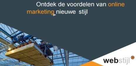 Webstijl Online Marketing