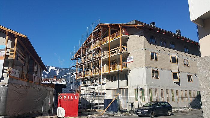 Ski appartement Kaprun tranche 3